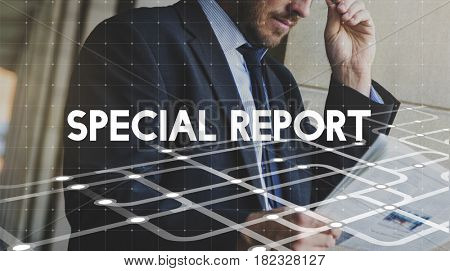 Special Report Update Announcement Word