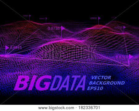 Big data. Binary code background. Eps10. RGB Global colors
