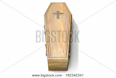 Coffin And Crucifix