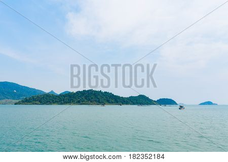 Tropical Landscape Of Koh Chang