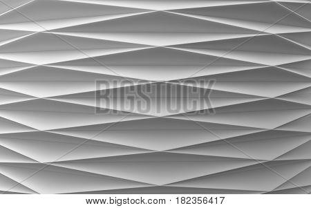 white folded surface
