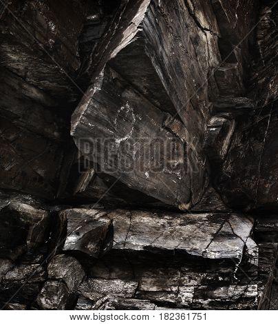Rock, rock background, rock texture. Stone, stone background, stone texture. Natural background.