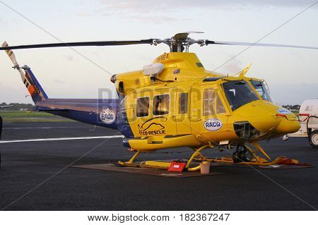 Racq Bell 412 Helicopter