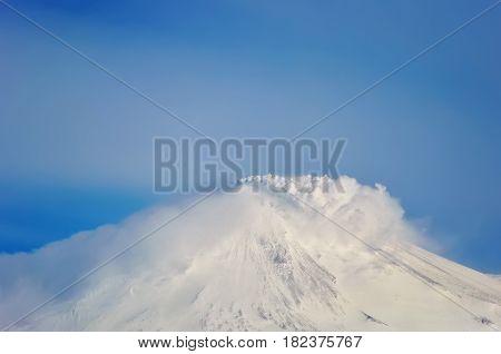 Beautiful volcanic landscape: Group of Volcanoes Kamchatka Region Russian Far East Eurasia