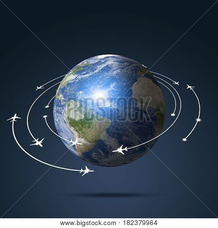 Earth Aviation Background