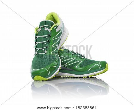 Unbranded Sneaker Isolated.
