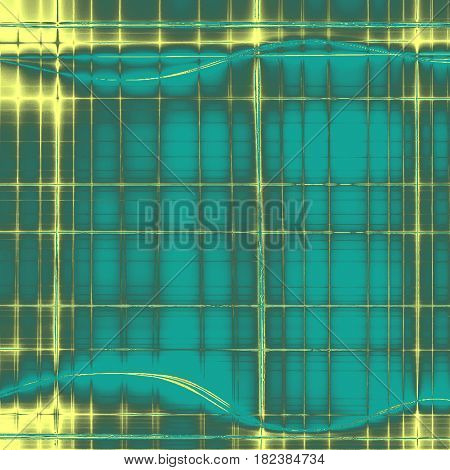 Distressed grunge texture, damaged vintage background with different color patterns: yellow (beige); gray; blue; cyan