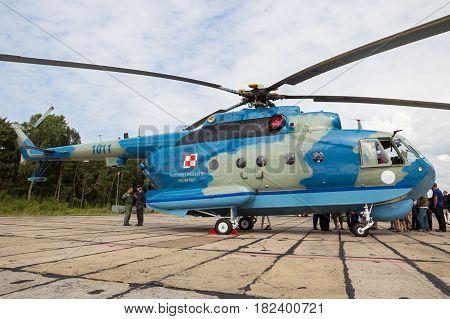 Mi-14 Anti-submarine Helicopter