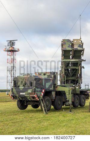 Military Patriot Sam Missile System