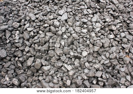 anthracite black coal close-up background power base