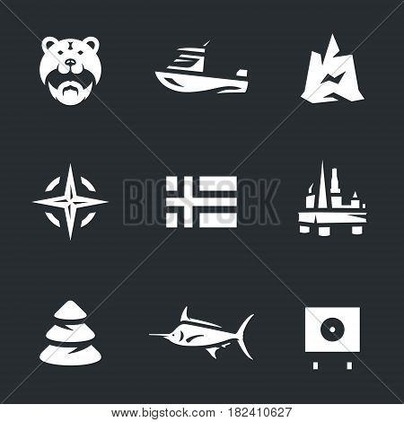Viking, boat, iceberg, alliance, flag, oil platform, forest, fish, biathlon.