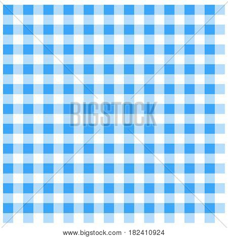 A vector illustration of a blue tablecloth.