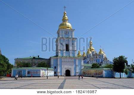 Saint Michael's Golden Domed Monastery in Kiev