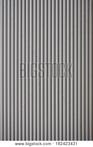 The Texture Of The Shutter Door Or Window In Light Gray Color