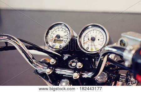 Speedometer In A Motorcycle