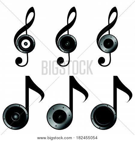 Violin Key Set Music Sound Illustration