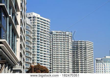 High Rise Condominium In Yokohama Minatomirai 21, Japan