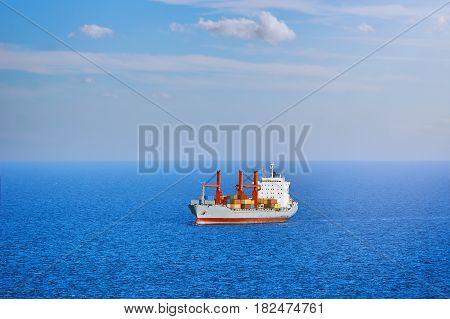 Dry Cargo Ship in the Black Sea