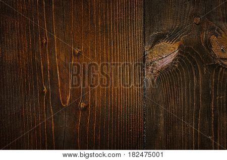 Wooden Background Texture of Brown Wooden Planks