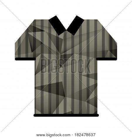 referee jersey stripes american football abstract vector illustration eps 10