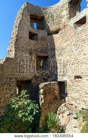 Bebris Tsikhe Fortress In Mtskheta, Georgia
