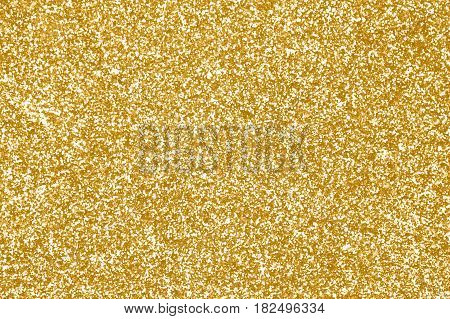 Elegant gold glitter sparkle confetti background or party invite for happy birthday, glitzy golden Christmas texture, celebrate 50th or 50 anniversary, shiny glam sequins glitz, New Year's Eve or wedding
