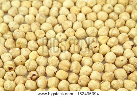 Delicious Hazelnuts , close up image .