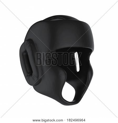 Boxing Headgear isolated on white background. 3D render