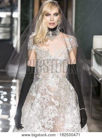 Reem Acra - Spring 2018 Collection - New York Fashion Week Bridal