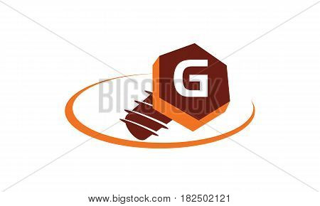 This vector describe about Industrial Solutions Initial G