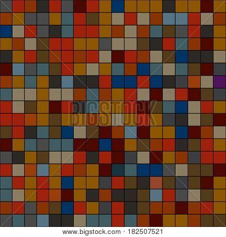 фон шаблон пиксель плитка в темны