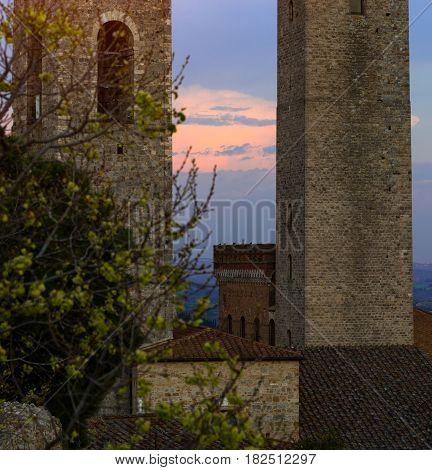 Old Town San Gimignano
