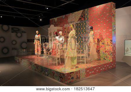 HONG KONG - NOVEMBER 11, 2016: Hong Kong Heritage Museum. Hong Kong Heritage Museum is a museum of history art and culture in Sha Tin.