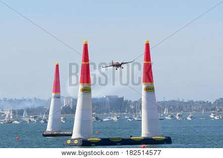 Nicolas Ivanoff Of France Performs During Red Bull Air Race