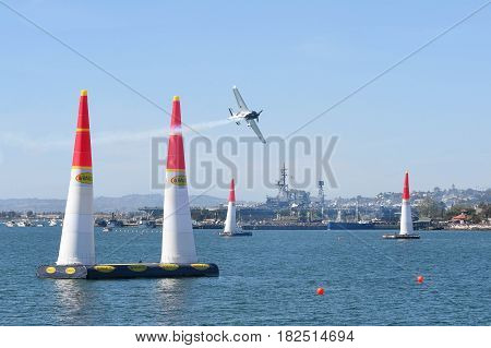 Michael Goulian Of Usa Performs During Red Bull Air Race