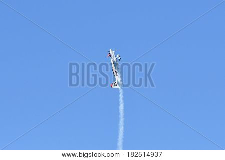 Matthias Dolderer Of German Performs During Red Bull Air Race