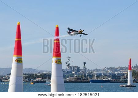 Kirby Chambliss Of Usa Performs During Red Bull Air Race
