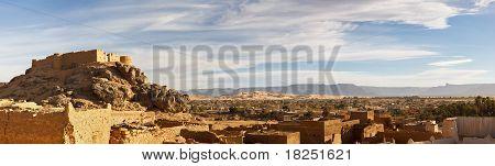 City Of Ghat, Akakus (acacus) Mountains, Sahara, Libya