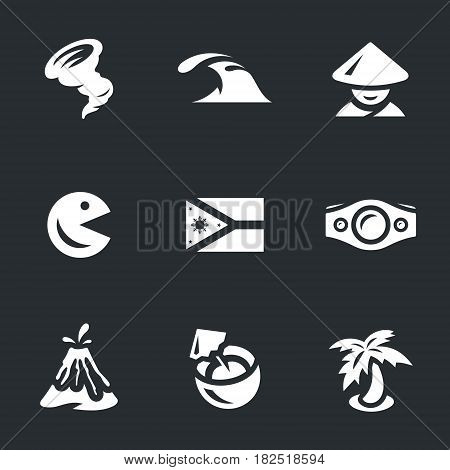 Hurricane, tsunami, filipino, mascot, flag, belt boxing, volcano, coconut, palm tree.