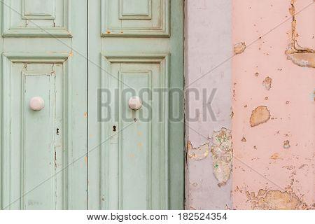 Peeling Paint Door
