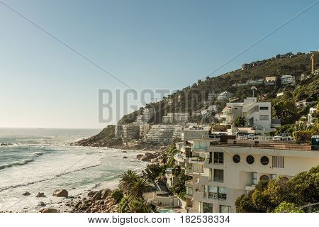 Camps Bay In Capetown (south Africa)