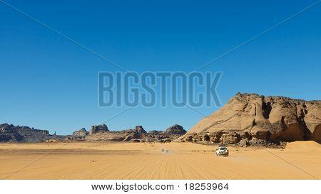 Sahara Desert Safari - Akakus, Sahara, Libya