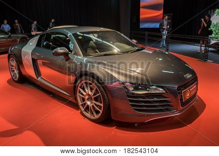 Audi R8 V10 Plus Presented On Tel-aviv Motor Show. Israel