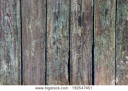 Texture from old wood planks of the fence