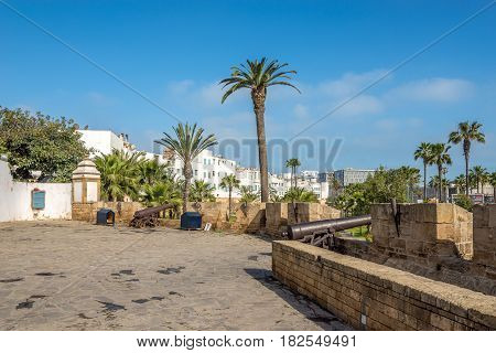 View at the Fortress Skala in Casablanca Morocco