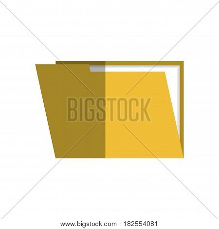 file folder isolated icon vector illustration design