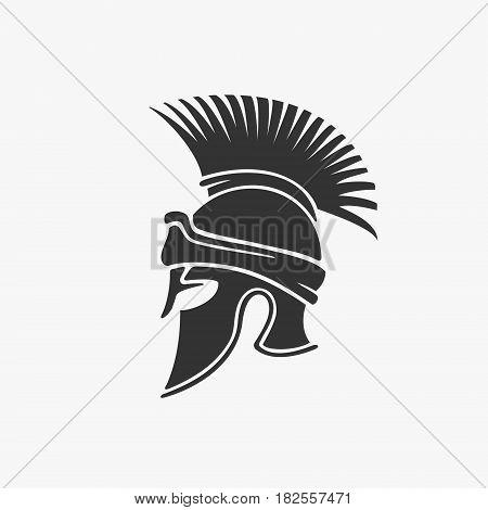 Ancient Military Helmet Vector Illustration eps 8 file format