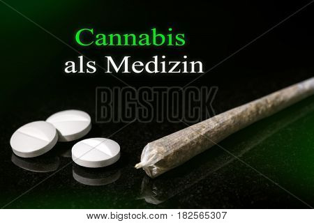 New Law in Germany Cannabis is legal medicine for Patients german text Cannabis als Medizin which means cannabis as medicine