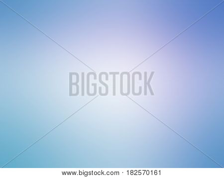 Abstract Gradient Blue Purple Colored Blurred Background
