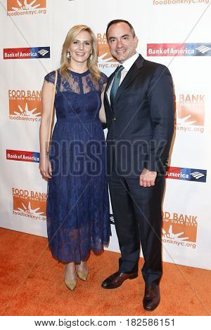 NEW YORK-APR 19: Vanessa Trail (L) and Kevin Frizse attend the Food Bank for New York City's Can-Do Awards Dinner 2017 at Cipriani's on April 19, 2017 in New York City.